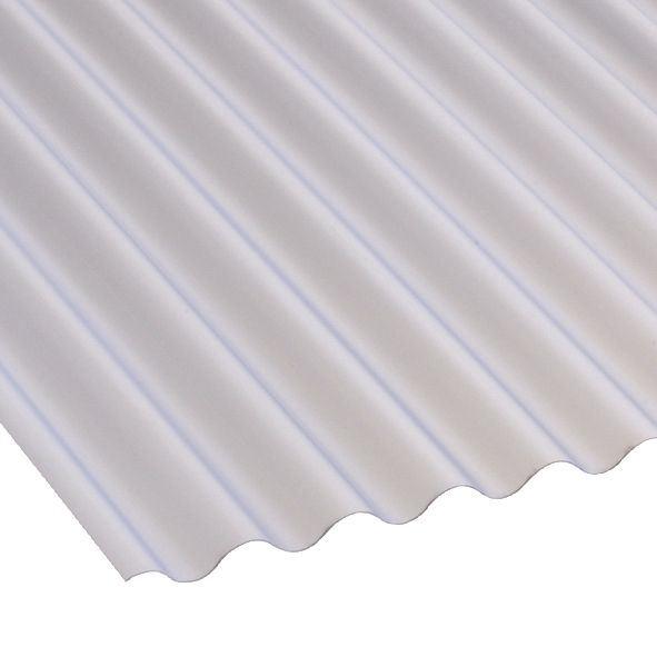 Corolux Mini-Corrugated PVC Sheet Translucent 662 x 1830mm