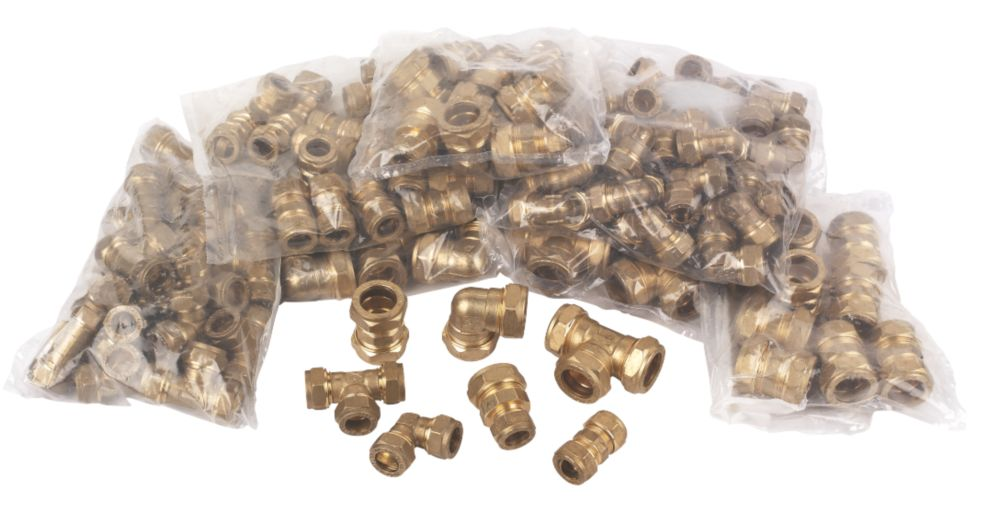 Compression Fittings Pack of 100