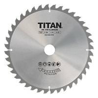 Titan TCT Circular Saw Blade 40T 254 x 16/25/30mm