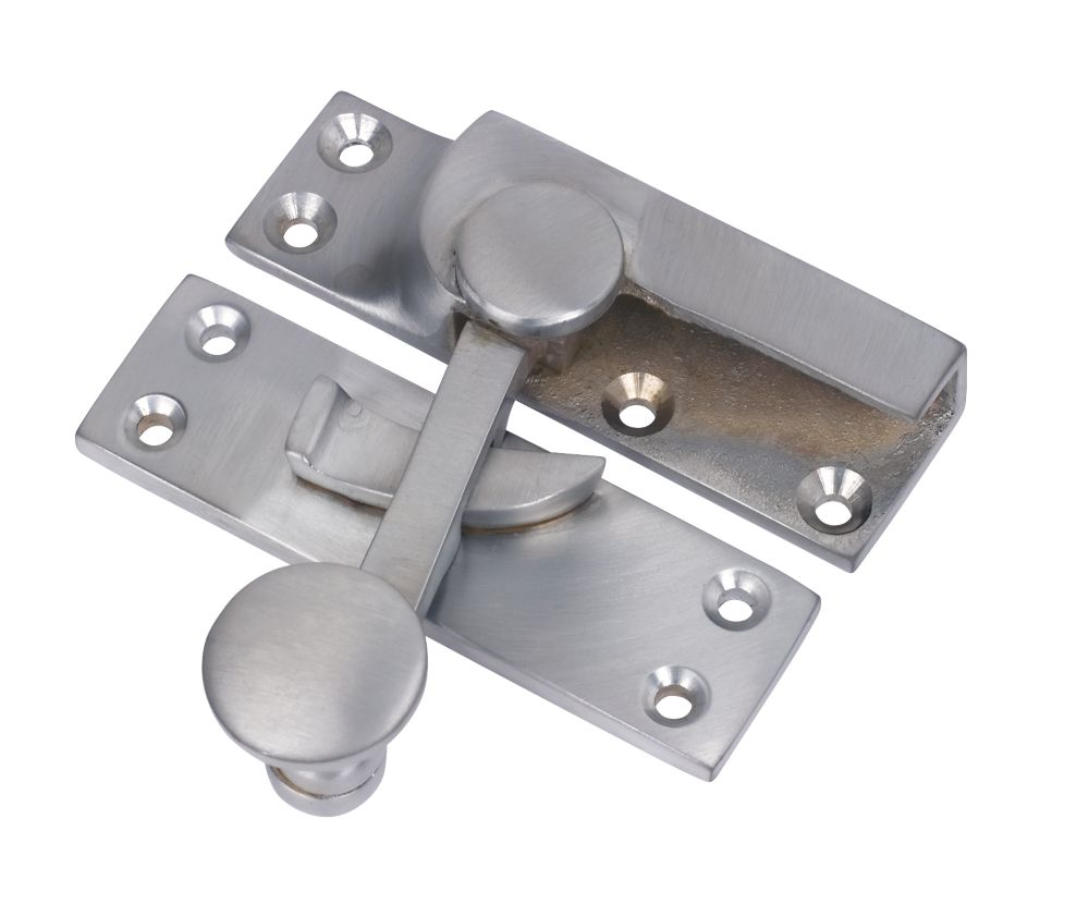 Sash Fastener Satin Chrome