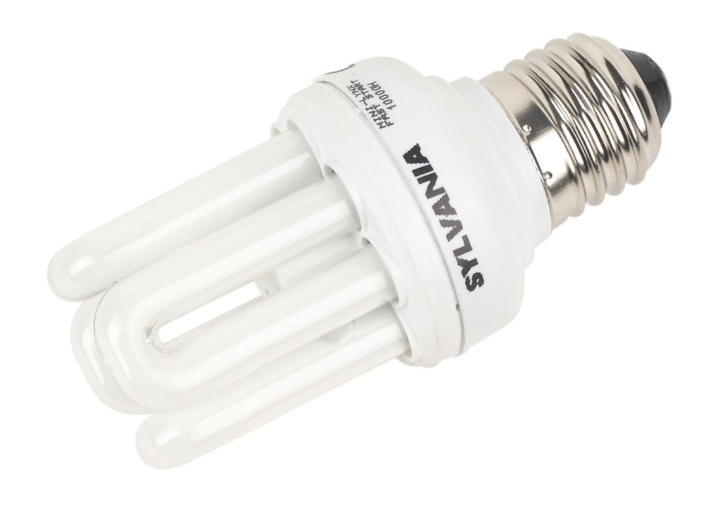 Sylvania Mini-Lynx Fast Start Stick Compact Fluorescent Lamp ES 600Lm 11W