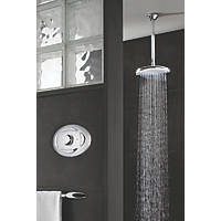 Triton Sirona Ceiling-Fed Thermostatic Digital Mixer Shower Satin Chrome