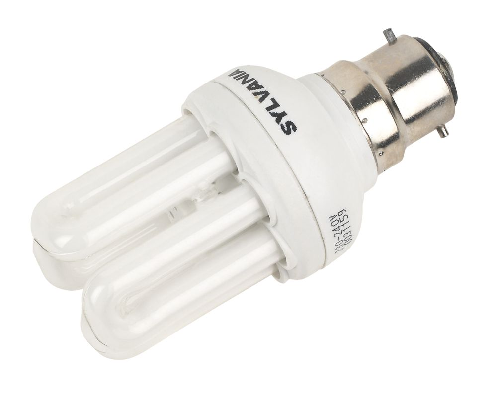 Sylvania Mini-Lynx Fast Start Stick Compact Fluorescent Lamp BC 600Lm 11W