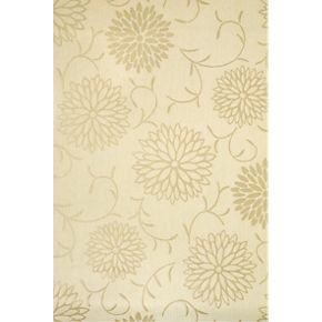 Cashback colours by b and q romantic cream floral for Living room wallpaper ideas b q