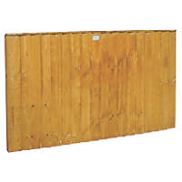 Forest Feather Edge Fence Panels 1.8 x 0.9m 5 Pack