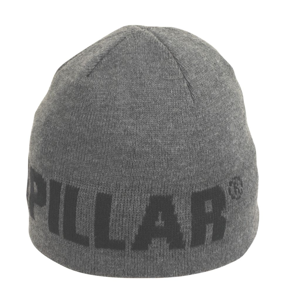 CAT Beanie Hat Grey / Black