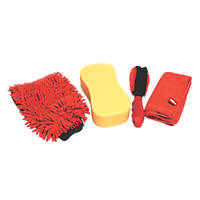 Hilka Pro-Craft Car Cleaning Washing Set 4 Piece Set