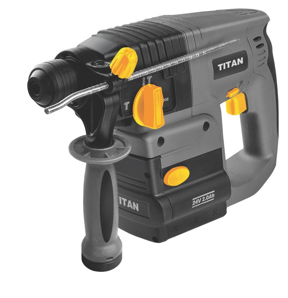 Titan TTF487SDS 4kg SDS Plus Drill 24V