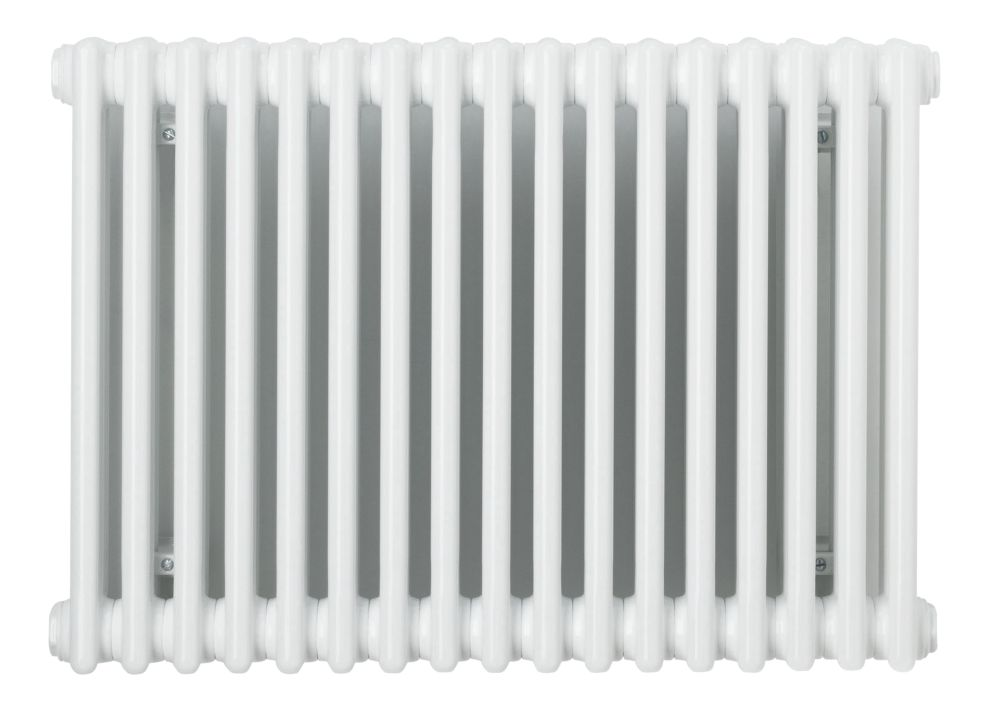 Acova Classic 2-Column Horizontal Designer Radiator White 600x812mm 2628BTU