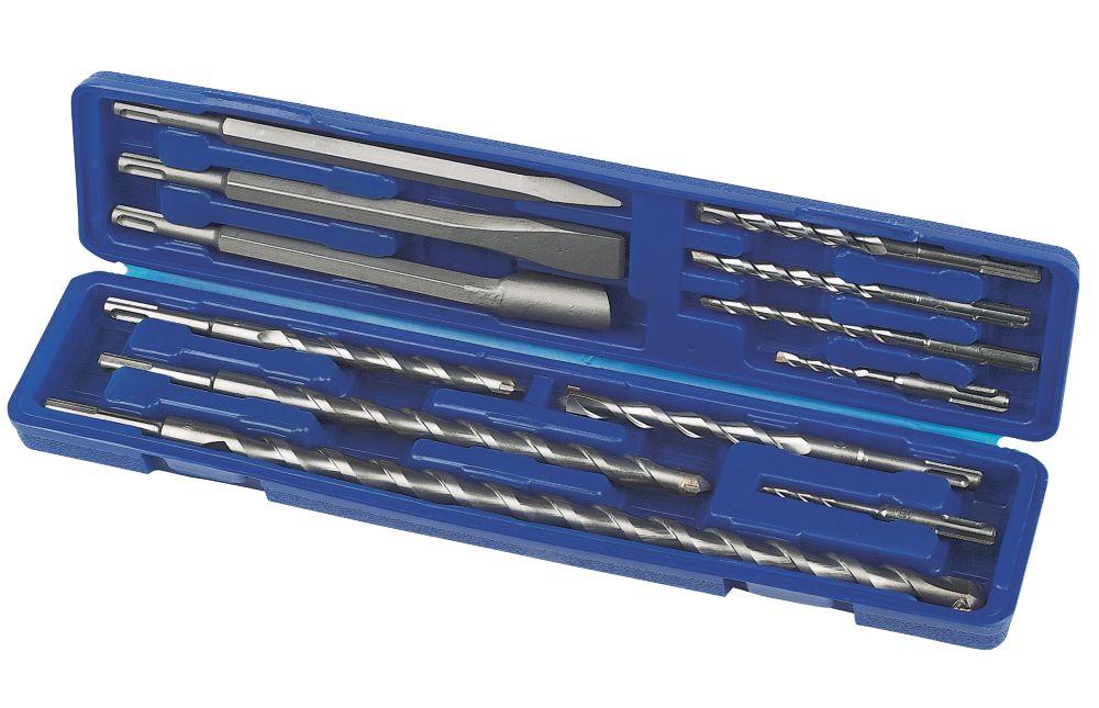 SDS Plus Drill Bit Combi Set 12Pc