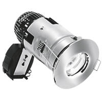 Aurora Fixed Round Fire Rated Downlight Polished Chrome 12 / 240V