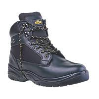 Site Tough Rock Safety Boots Black Size 7