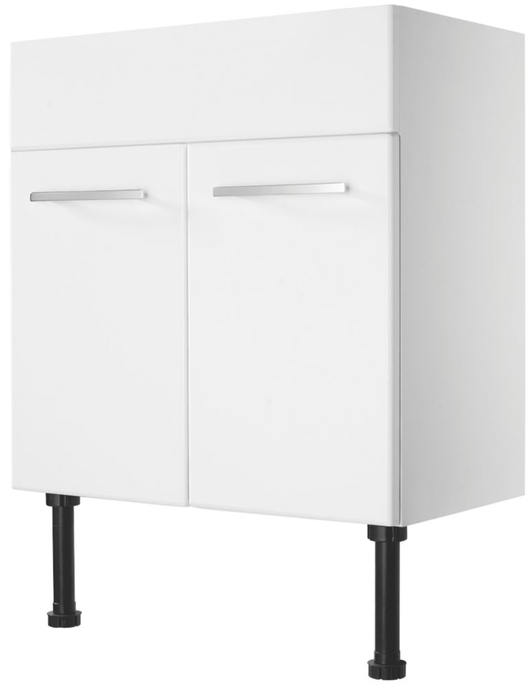 Kobe Bathroom Basin Unit White 600mm