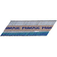 Rawlplug Galvanised Ring Shank Nails 2.8 x 51mm 3300 Pack