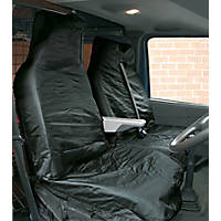 Streetwize Heavy Duty Van Seat Covers Black 2 Pcs