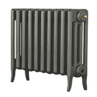 Arroll Neo-Classic 4-Column Cast Iron Radiator Cast Grey 460 x 634mm
