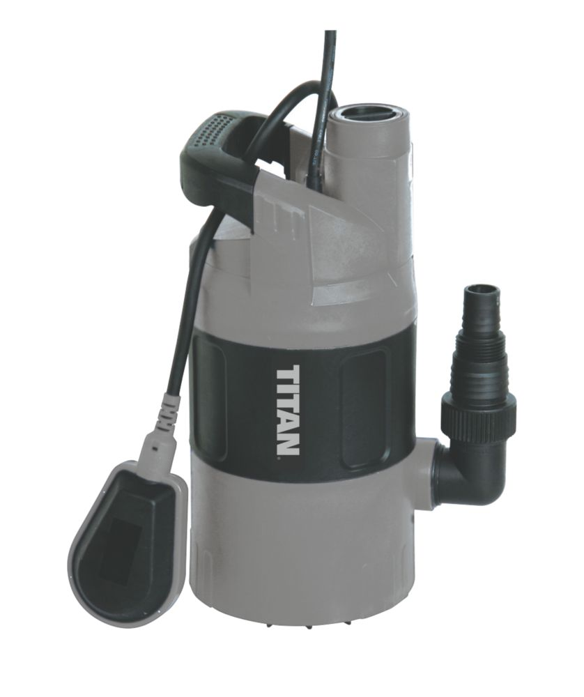 Titan TTB499PMP 550W Automatic Dirty & Clean Water Pump
