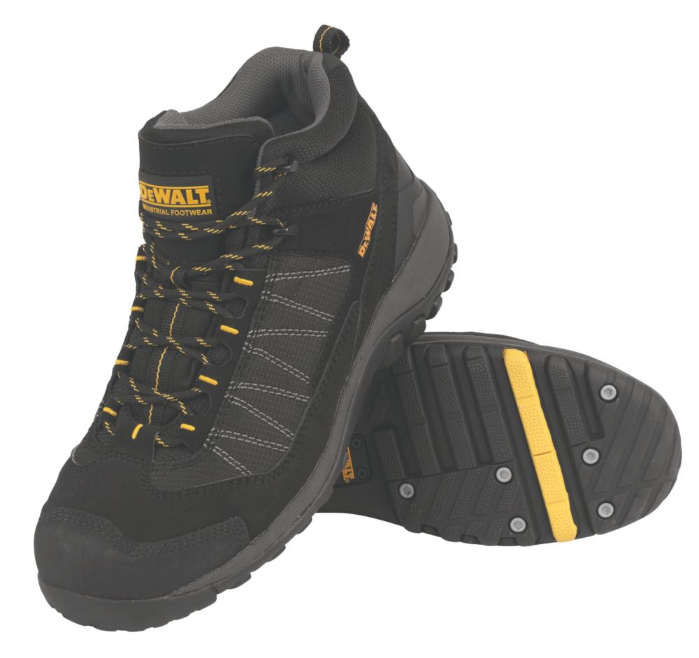 DeWalt Nailer Safety Boots Black Size 8