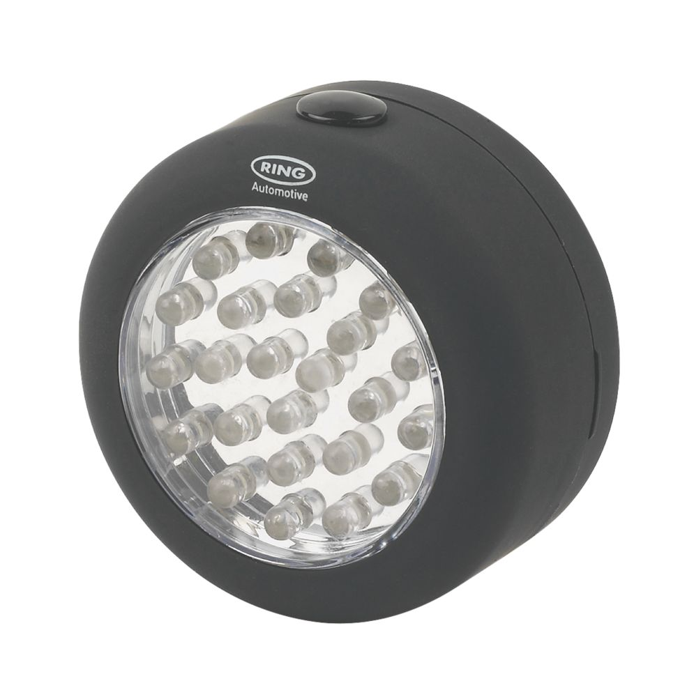 Ring Automotive 24 LED Round Magnetic Utility Lamp