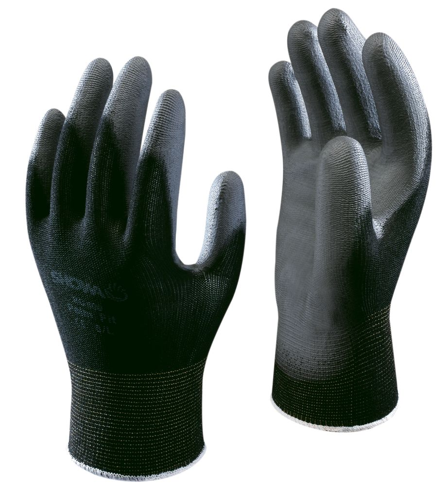 Showa Best B0500 General Handling Palm Fit Gloves Black X Large