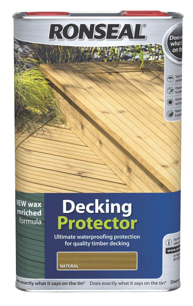 Ronseal Decking Protector Natural 5Ltr
