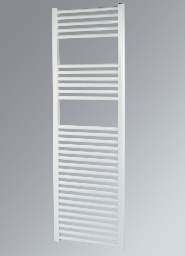 Kudox Flat Towel Radiator White 600 x 1500mm 819W 2795Btu