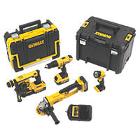 DeWalt DCK451M3-GB 18V 4.0Ah Li-Ion XR Cordless 4-Piece Power Tool Kit