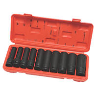 "Hilka Pro-Craft ½"" Deep Impact Socket Set 10 Pieces"