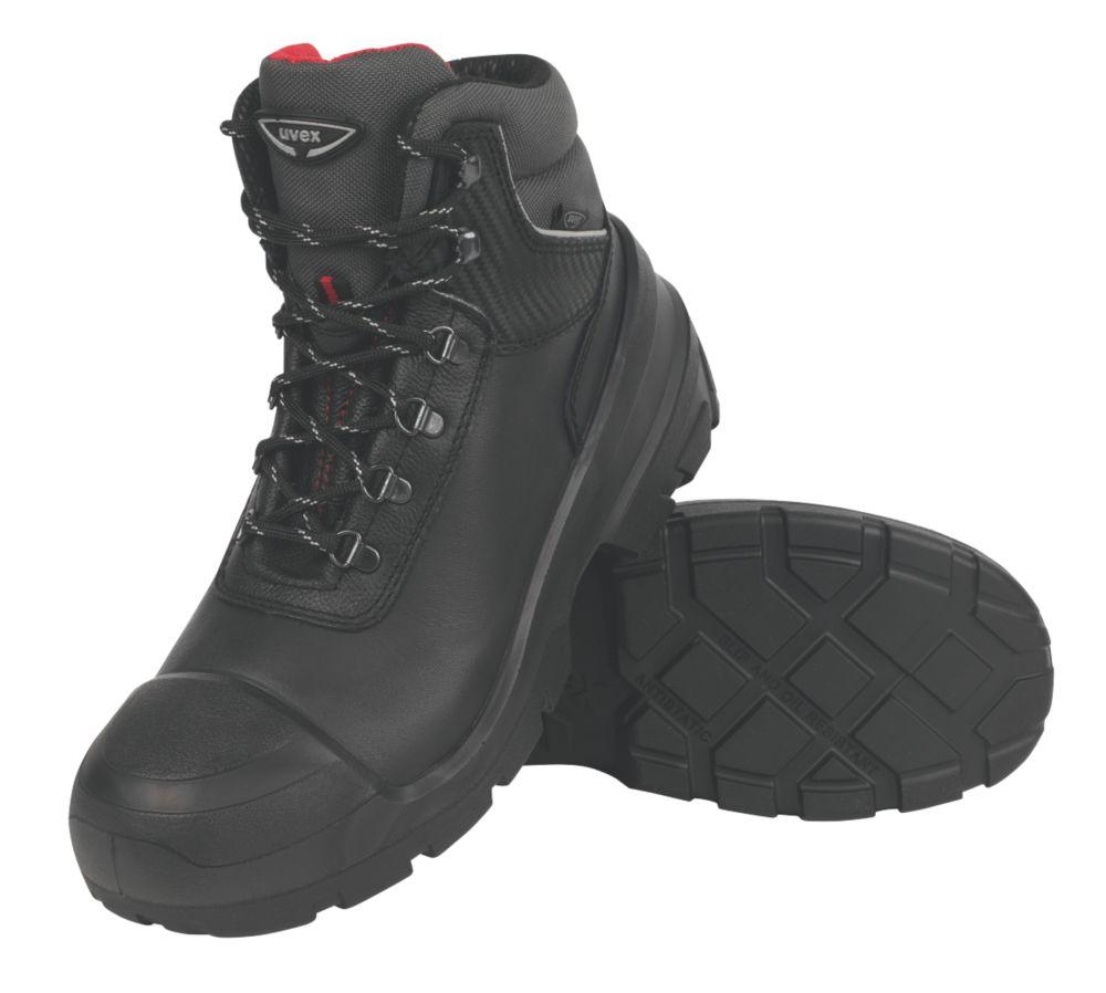 Uvex Quatro Pro Safety Boots Size 8