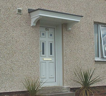 Orkney Door Canopy 1600 x 520 x 560mm