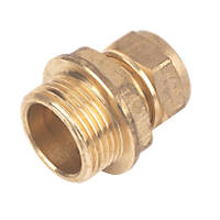 Male Coupler 15mm x ¾""