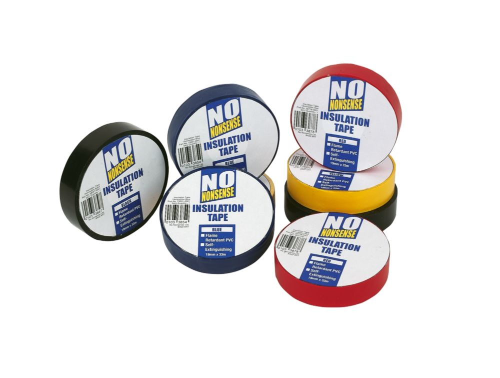 Insulation Tape Multipack 19mm x 33m 14Pcs