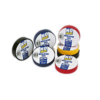 No Nonsense  Insulation Tape Multipack 14Pcs Mixed 19mm x 33m 14 Pack