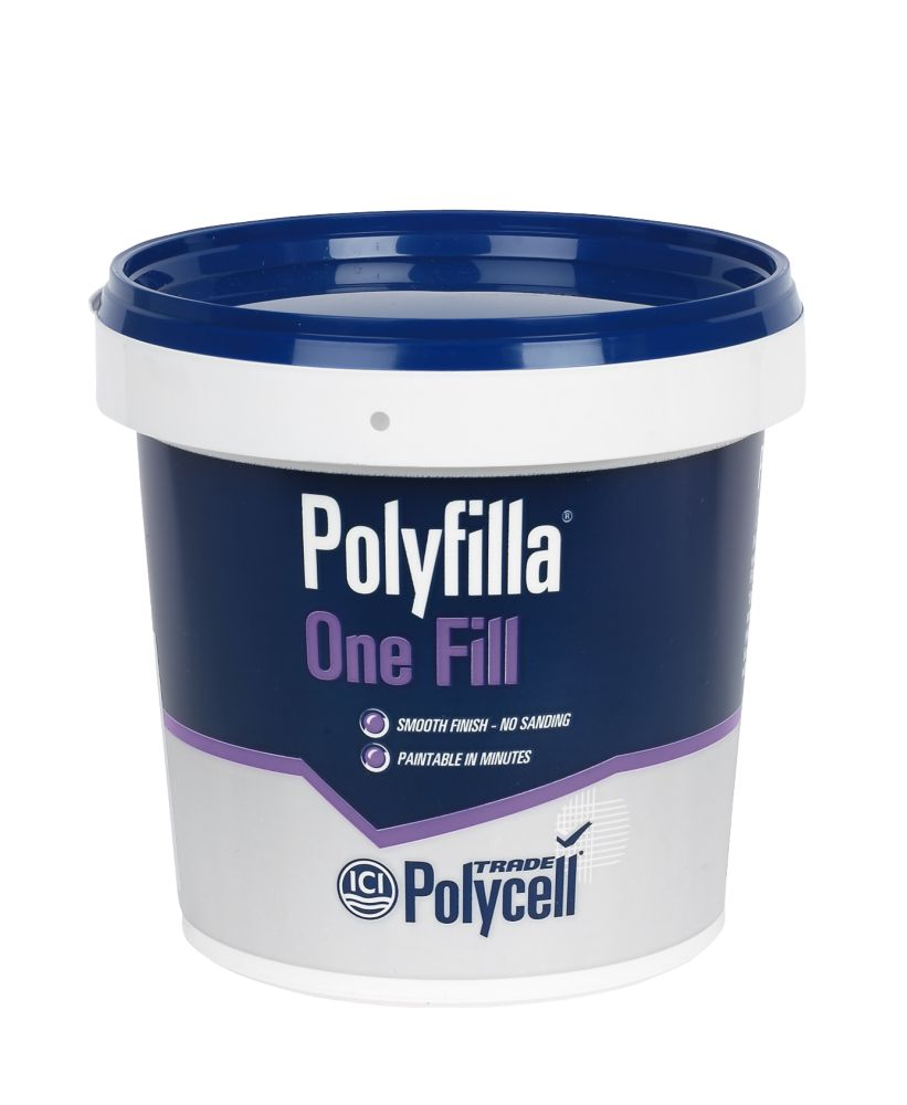 Polycell Polyfilla Trade One Fill Tub 1Ltr
