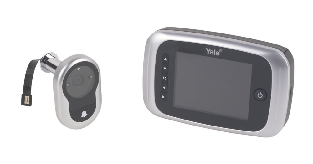 Yale 1-Way Video Recording Door Entry Kit with Colour LCD Monitor