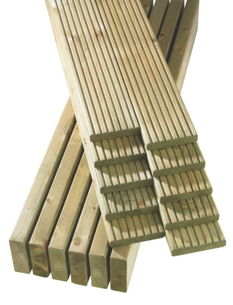 Finnlife Finnforest Decking 4.8 x 4.8m Pack of 40 Lengths
