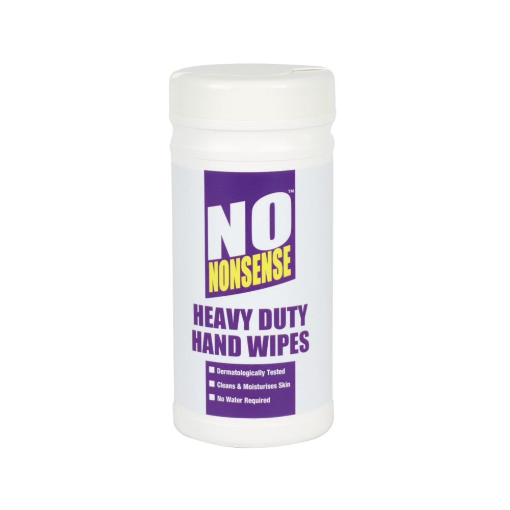 No Nonsense Heavy Duty Hand Wipes Pack of 75
