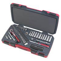 """Teng Tools ¼"""" Deep & Standard Socket Set 60Pcs"""