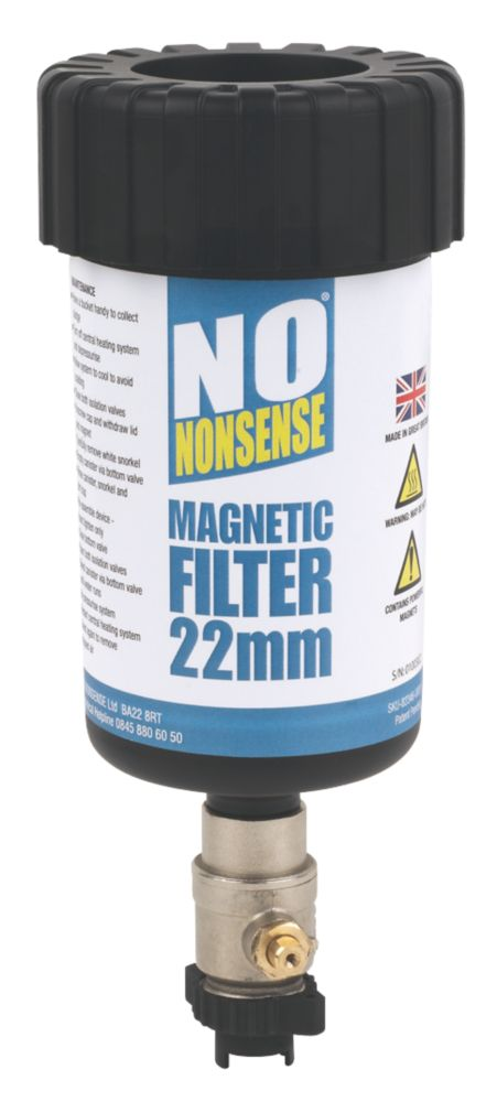 No Nonsense Magnetic Central Heating Filter 22mm