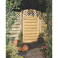 Grange Elite St Melior Gate 900 x 180mm Pressure-Treated Green