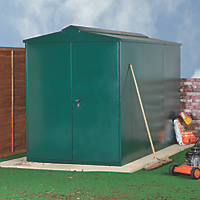 Asgard Centurion All-Metal Bike Store Green 1.6 x 2.2m
