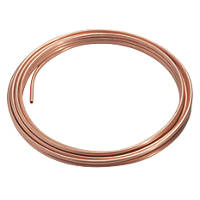 Wednesbury Microbore Copper Pipe Coil 10mm x 10m
