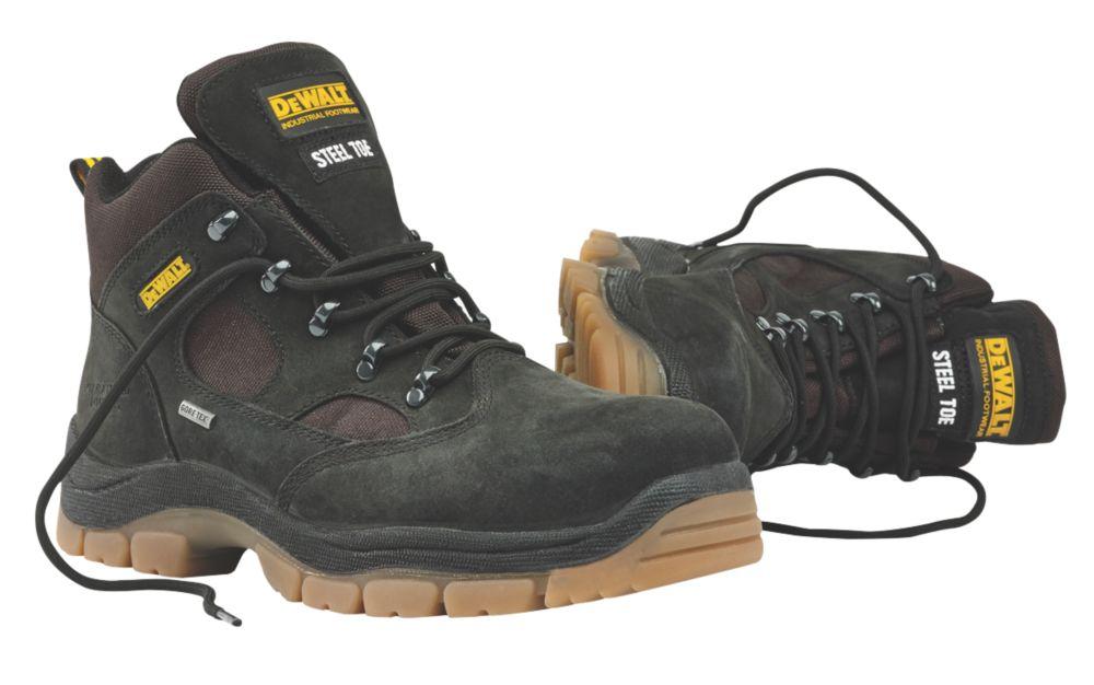 DeWalt Challenger Gore-Tex Safety Boots Black Size 8