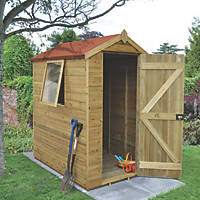 Forest 4' x 6' (Nominal) Apex Tongue & Groove Timber Shed