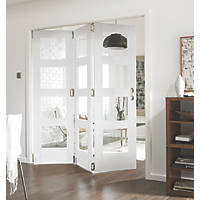 Jeld-Wen Shaker 4-Panel Interior Room Divider Primed 2052 x 1934mm