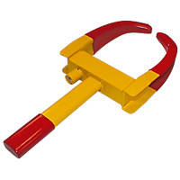"Streetwize Claw Wheel Clamp 5""-10"" Yellow / Red"