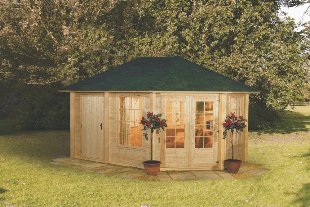 Finnlife Peili 212 Log Cabin 2.7 x 4.1 x 3m