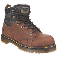 Dr Martens Fairleigh Safety Boots Brown Size 9