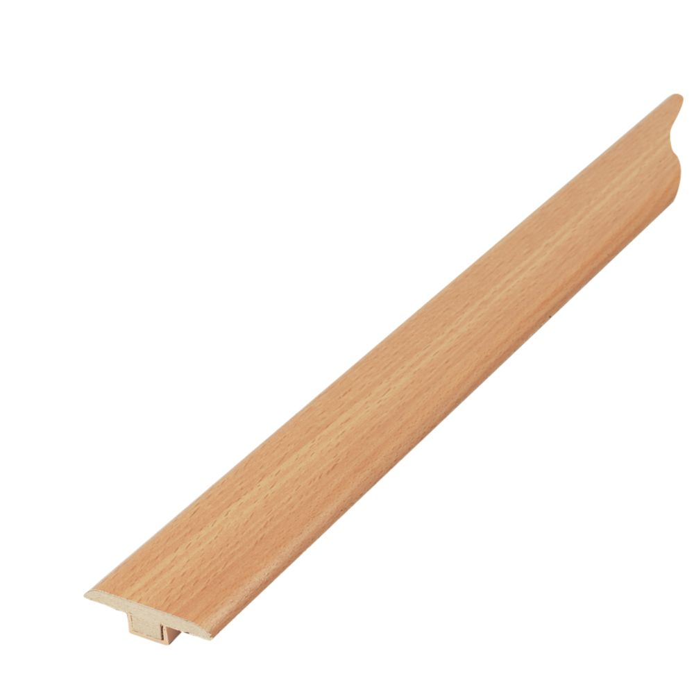 Beech Effect T-Bar Laminate Threshold 0.9m