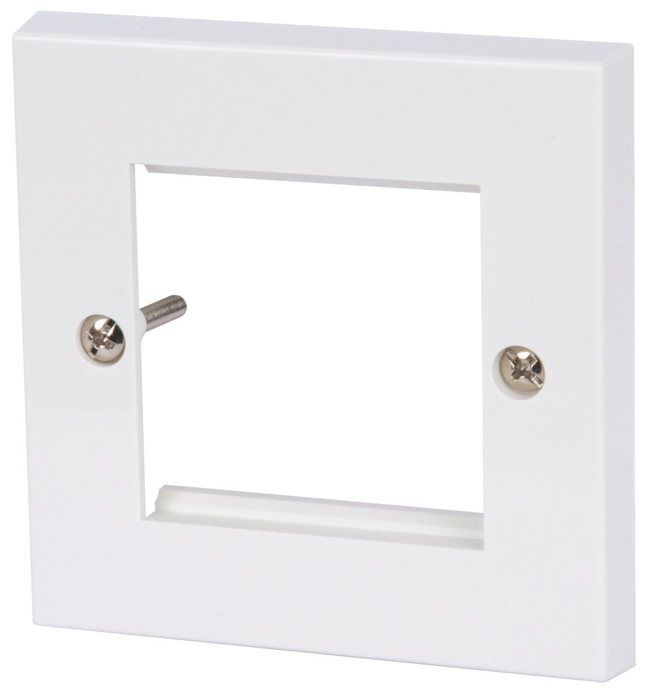 Philex 2G Modular Faceplate White